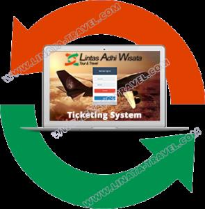 bisnis tiket pesawat terbang LINATA-Otomatis