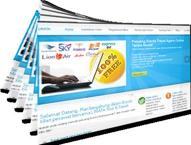 bisnis tiket pesawat online murah gratis LINATA_gambar