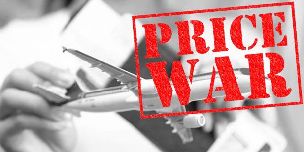 Bisnis tiket pesawat murah linata-Gambar price war