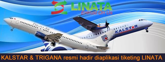 Kalstar & Trigana resmi hadir di aplikasi tiketing LINATA