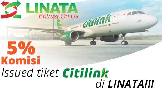 Bisnis tiket  pesawat komisi besar- LINATA